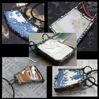 Broken Dish Pendant To Be Custom Made Send Me Your China