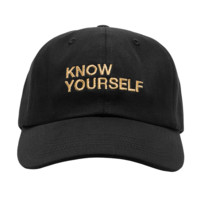 The New Trendy Drake Ovo Know Youself Black Baseball Cap Hat