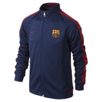 Nike FC Barcelona Authentic N98 Kids' Soccer Track Jacket