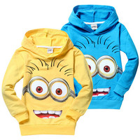 Despicable Me Minions Toddler Kids Clothing youth boys girls gift daughter son Movie Film