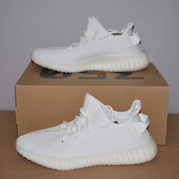 Adidas YEEZY Boost 350 V2 Cream Triple White CP9366 DS - Men's Size 9