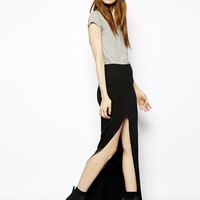 ASOS Maxi Skirt with Thigh High Split