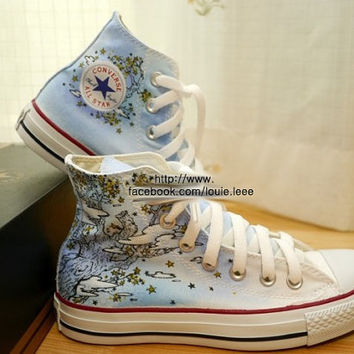 Hand-Painted Custom Converse All Stars (Chuck Taylors)