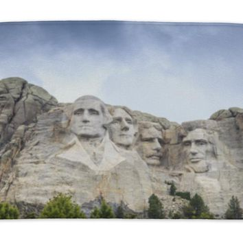 Bath Mat, Lincoln Memorial Presidents Of Mount Rushmore National Monument