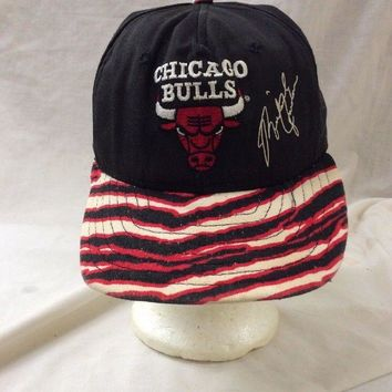 trucker hat baseball cap CHICAGO BULLS NBA basketball Jordan 23 SnapBack Vintage