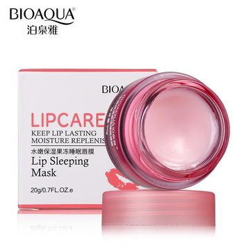 Strawberry Lip/ Sleeping Mask Exfoliator Cream
