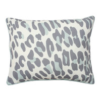 Cream Leopard Window Panel Set of 2