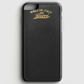 Gucci Light Bamboo Shopper Leather iPhone 6 Plus/6S Plus Case | casescraft