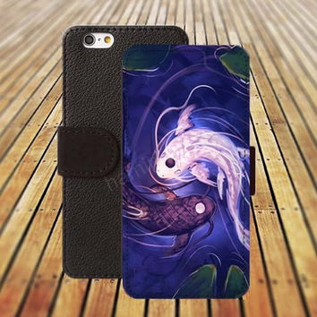 iphone 5 5s case fish case colorful iphone 4/ 4s iPhone 6 6 Plus iphone 5C Wallet Case , iPhone 5 Case, Cover, Cases colorful pattern L095