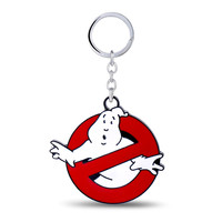 Ghostbusters Key Chain Hot Movie Key Rings For Gift Chaveiro Car Keychain Jewelry Game Key Holder Souvenir YS11094