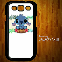 B1312 Lilo and Stitch Aloha Samsung Galaxy S3 case