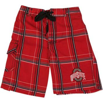 Ohio State Buckeyes Toddler Bat Boy Boardshort - Scarlet - http://www.shareasale.com/m-pr.cfm?merchantID=7124&userID=1042934&productID=526698547 / Ohio State Buckeyes