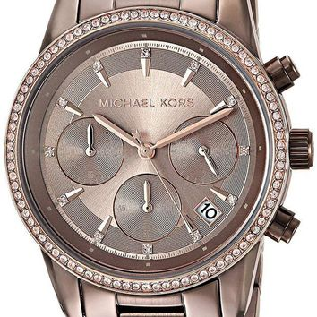 DCCK2JE Michael Kors Watches Ritz Sable Chronograph Watch