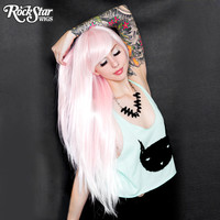 RockStar Wigs® Ombre Alexa™ Collection - Pink to White Fade-00202