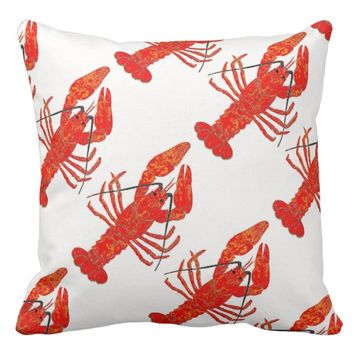 Red Lobster Pillow 2