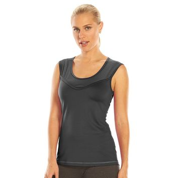 Tek Gear DRY TEK Scoopneck Workout Muscle Tank - Women's, Size: