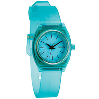 Nixon The Small Time Teller P Watch Translucent Mint One Size For Women 23424552301
