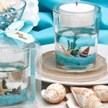 Fashioncraft Stunning Beach-Themed Candle Favor