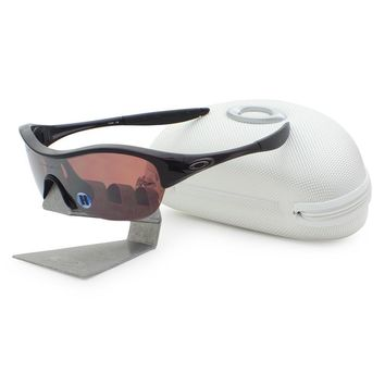 Oakley 09-804 ENDURE POLARIZED Cinder Red VR28 Black Womens Sport Sunglasses