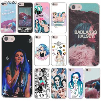 Lavaza Halsey Colors Lyrics Badlands Hard Cover Case for Apple iPhone 8 7 6 6S Plus 5 5S SE 5C 4 4S X 10 Coque Shell