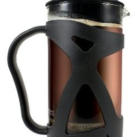 KONA French Press Coffee Tea & Espresso Maker, Black 34oz Teapot ~ Best Present Idea For Gifts