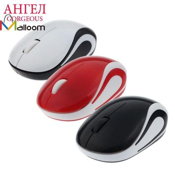 Hot Mini USB 2.4 GHz Wireless Mouse For Laptop Super Slim Optical 2000 DPI Ball Gaming Mouse For Computer Mouse Gamer PC Desktop