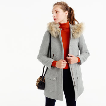 Chateau parka in stadium-cloth : Women wool | J.Crew