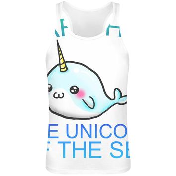 Narwhal The Unicorn Of The Sea Tank Top T-Shirt