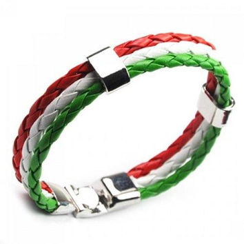 Faux Leather Italy Bracelet