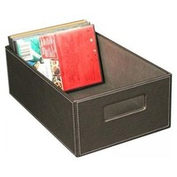 Gray Faux Leather DVD Box