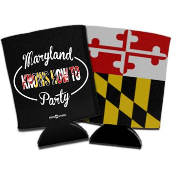Maryland Flag & Party Koozie *BUNDLE*