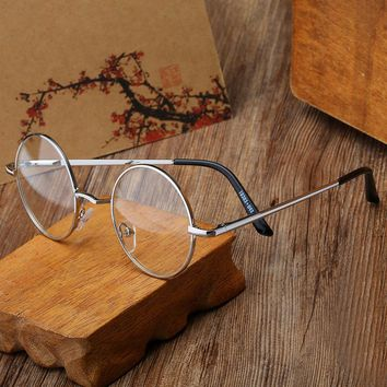 Free delivery retro glasses frame Retro glasses women eyewear vintage Radiation Protection Retro Creative Wild glasses