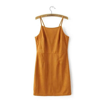 Ginger Strappy-Back Bodycon Strappy Dresses