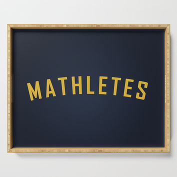 Mathletes - Mean Girls movie Serving Tray by allier