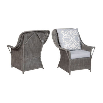 GuildMaster Retreat Rattan Chairs - Set of 2 693501P