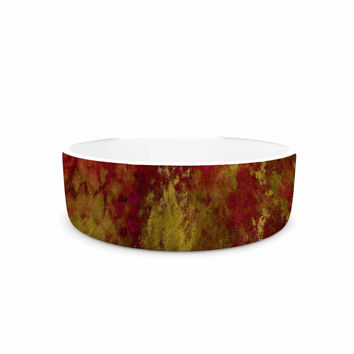 "Ebi Emporium ""Epoch 4"" Red Green Pet Bowl"