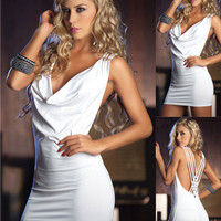 Women's Sexy Slim Party Dress Cocktail Party Clubwear = 4427418244