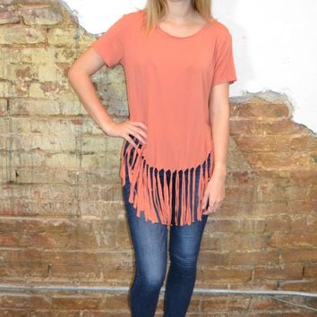 Super Cute Fringe Top