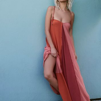 Free People Mixin' It Up Maxi Dress