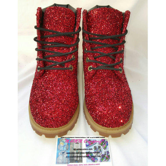 Custom Glitter Timberland Boots!!! from MAMMcreations on Etsy 62d9c66f708d