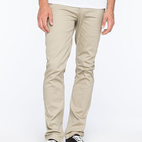 Altamont Davis Mens Slim Chino Pants Khaki  In Sizes