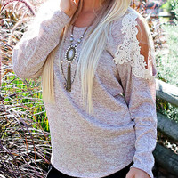 sweet me crochet lace - oatmeal
