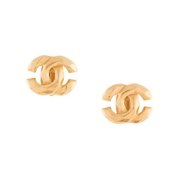 Chanel Vintage Mini CC Earrings - Farfetch