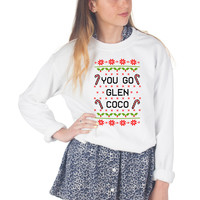 Christmas You Go Glen Coco Sweater
