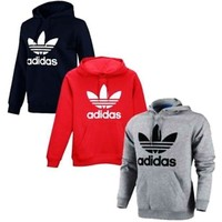 Adidas men and women's stylish pullover sweatshirt and sweatshirt I