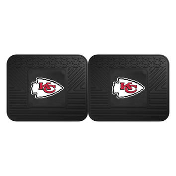 Kansas City Chiefs NFL Utility Mat (14x17)(2 Pack)