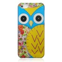 Retro Floral Owl Phone Case For iPhone 5