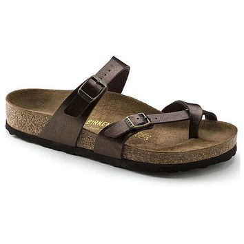 Best Online Sale Birkenstock Mayari Birko Flor Graceful Toffee 71941 Sandals