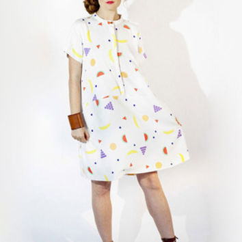 Oversize Tee Dress - Fruit by dusen dusen for Of a Kind