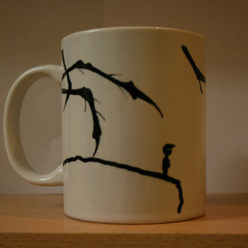 LIMBO THEMED hand painted MUG